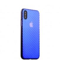 """Чехол-накладка пластиковый J-case Colorful Fashion Series 0.5mm для iPhone XS/ X (5.8"""") Фиолетовый оттенок"""