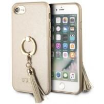 Чехол GUESS для iPhone 7/8 SE 2 Saffiano Hard PU + Ring Beige