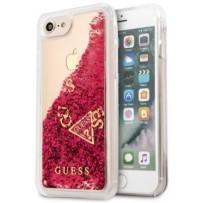 Чехол GUESS для iPhone 7/8 SE 2 Glitter Hard Raspberry
