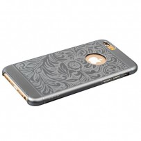 Накладка металлическая iBacks Cameo Series Aluminium Case for iPhone 6s/ 6 (4.7) - Venezia (ip60025) Space Gray Темно серый
