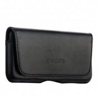 Чехол-кобура (внут. маг.) кожаный Valenta (С-918) Durban для iPhone SE/ 5S/ 5 на ремень черный