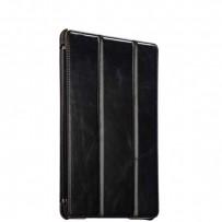 """Чехол кожаный i-Carer для New iPad 2017г. (9,7"""") Vintage Series (RID707bl) Черный"""