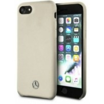 Чехол Mercedes-Benz для iPhone 7/8/ SE (2020) Silicone line Hard Beige