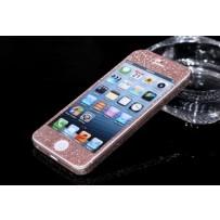 """Защитная, противоскользящая пленка """"Magic sticker"""" для iPhone 5/5s, нежно-розовый"""
