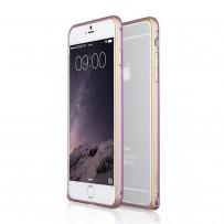 """Бампер алюминиевый """"DX"""" для iPhone 6, розовый"""