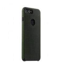 Чехол-накладка силиконовый COTEetCI Vogue Silicone Case для iPhone 7 Plus (5.5) CS7025-BK-GR Черный/ Зеленый