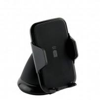 """Автомобильное беспроводное Qi зарядное устройство Deppa Crab Qi Fast Charge D-55155 для 3.5""""-5.9"""" (5-9V/ 1.5A 5-10W) Черный"""