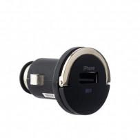 Автомобильное зарядное устройство Deppa Ultra MFI D-11251 (витой дата-кабель c разъемом 8-pin Lightning 5V 1.2A) 1.5 м Черный