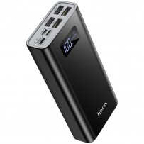 Аккумулятор внешний универсальный Hoco J46A 20000 mAh Star ocean mobile power bank (4USB:5V-2.0A Max) Черный