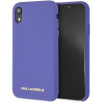 Чехол Karl Lagerfeld для iPhone XR (KLHCI61SLVOG)