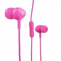 Наушники Hoco M3 Universal Earphone (1.2 м) с микрофоном Розовые
