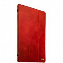 """Чехол кожаный i-Carer для iPad Pro (12,9"""") Vintage Series (RID701red) Красный"""