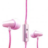 Наушники COTEetCI Earphone EH04-MINI POTTERY CS3013-PK Розовые