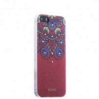 Накладка силиконовая Beckberg Golden Faith series для iPhone SE/ 5s/ 5 со стразами Swarovski вид 12