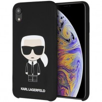 Чехол Karl Lagerfeld для iPhone XR (KLHCI61SLFKBK)