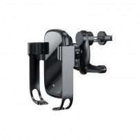 Автомобильное беспроводное зарядное устройство Baseus WXHW01-B01 Rock-solid Electric Wireless Charger (5V/2A, 9V/1.67A) Черный