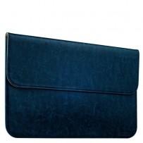 Защитный чехол-конверт i-Carer Genuine Leather Series для Apple MacBook Air 13 (RMA131blue) Голубой