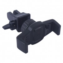 Автомобильный держатель Hoco CA38 Platinum sharp air outlet in-car holder универсальный в решетку черный