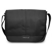 "Сумка Cerruti для ноутбуков до 13""  Messenger Bag Nylon/Leather Black"