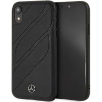 Чехол Mercedes-benz для iPhone XR New Organic I Hard Leather Black