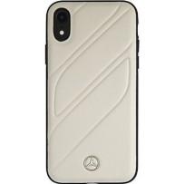 Чехол Mercedes-benz для iPhone XR New Organic I Hard Leather Grey