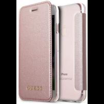 Чехол GUESS для iPhone 7/8 SE 2 Iridescent Booktype PU Rose gold