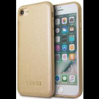 Чехол GUESS для iPhone 7/8/ SE (2020) Iridescent Hard PU Gold