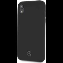 Чехол Mercedes-benz для iPhone XR Silicone line Hard Black