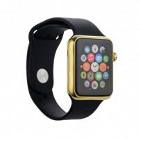 Муляж Apple Watch 38мм Золотистый/ черный ремешок