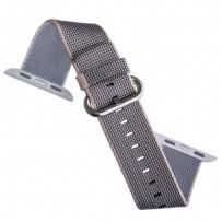 Ремешок COTEetCI W11 NYLON BAND (WH5215-GY-42) для Apple Watch 44мм/ 42мм Gray - Серый
