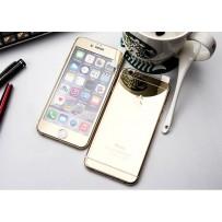 """Двусторонние защитное стекло """"Mirror"""" для iPhone 6, золото."""