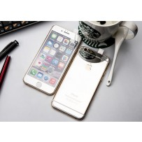 "Двусторонние защитное стекло ""Mirror"" для iPhone 6, серебро."