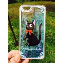 """Чехол """"Звездный кот"""" для iPhone 6/6S, бирюзовый."""