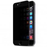 """Стекло защитное """"Антишпион"""" 3D для iPhone 6/6S, черный"""