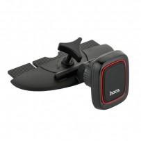 Автомобильный держатель Hoco CA25 Lotto Series Magnetic CD Port Holder магнитный универсальный в CD-слот черный