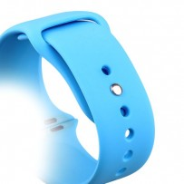 Ремешок спортивный COTEetCI W3 Sport Band (CS2086-BL) для Apple Watch 44мм/ 42мм Голубой