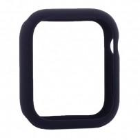 Чехол силиконовый бампер COTEetCI Liquid Silicone Case для Apple Watch Series 4/5 (CS7068-BL) 44мм Темно-синий