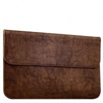 Защитный чехол-конверт i-Carer Genuine Leather Series для Apple MacBook Air 13 (RMA131br) Коричневый