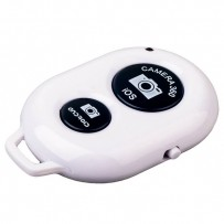 Фотопульт Bluetooth для iOS/ Android Remote Shutter White Белый