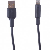 USB дата-кабель Hoco X25 Soarer charging data cable Lightning (1.0 м) Black