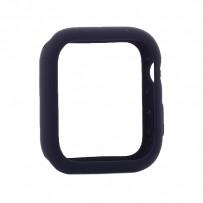 Чехол силиконовый бампер COTEetCI Liquid Silicone Case для Apple Watch Series 4/5 (CS7067-BL) 40мм Темно-синий