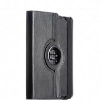 Чехол&клавиатура LAB для iPad 4/ 3/ 2 Bluetooth Keyboard Leather Case (РУС-ENG) с рифленой поверхностью Черный