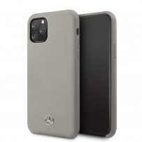 Чехол Mercedes-benz для iPhone 11 Pro Max Silicone line Hard Grey