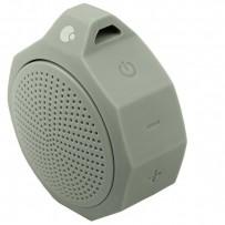 Портативный динамик COTEetCI Bluetooth SILICONE PORTABLE SPEAKER CS2305-GR Серый с защитой от брызг