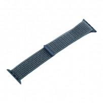 Ремешок COTEetCI W17 Magic Tape Band (WH5225-QY-40) для Apple Watch 40мм/ 38мм Dark Green Темно-зеленый