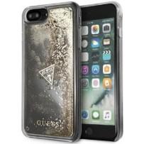 Чехол Guess для iPhone 7/8 PLUS Glitter Hard Gold