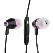 Наушники Hoco M4 Colorful Universal Earphone (1.2 м) с микрофоном Black