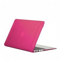 Защитный чехол-накладка BTA-Workshop для Apple MacBook Air 11 матовая розовая