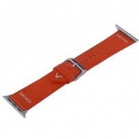 Ремешок кожаный COTEetCI W33 Fashion LEATHER классическая пряжка (WH5256-RD-38) для Apple Watch 40мм/ 38мм Красный