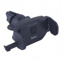 Автомобильный держатель Hoco CA39 Triumph air outlet semi-automatic in-car holder универсальный в решетку черный